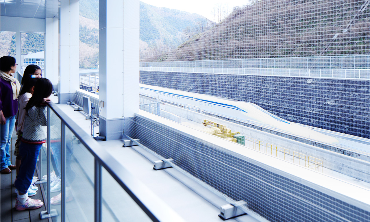 Maglev train tour