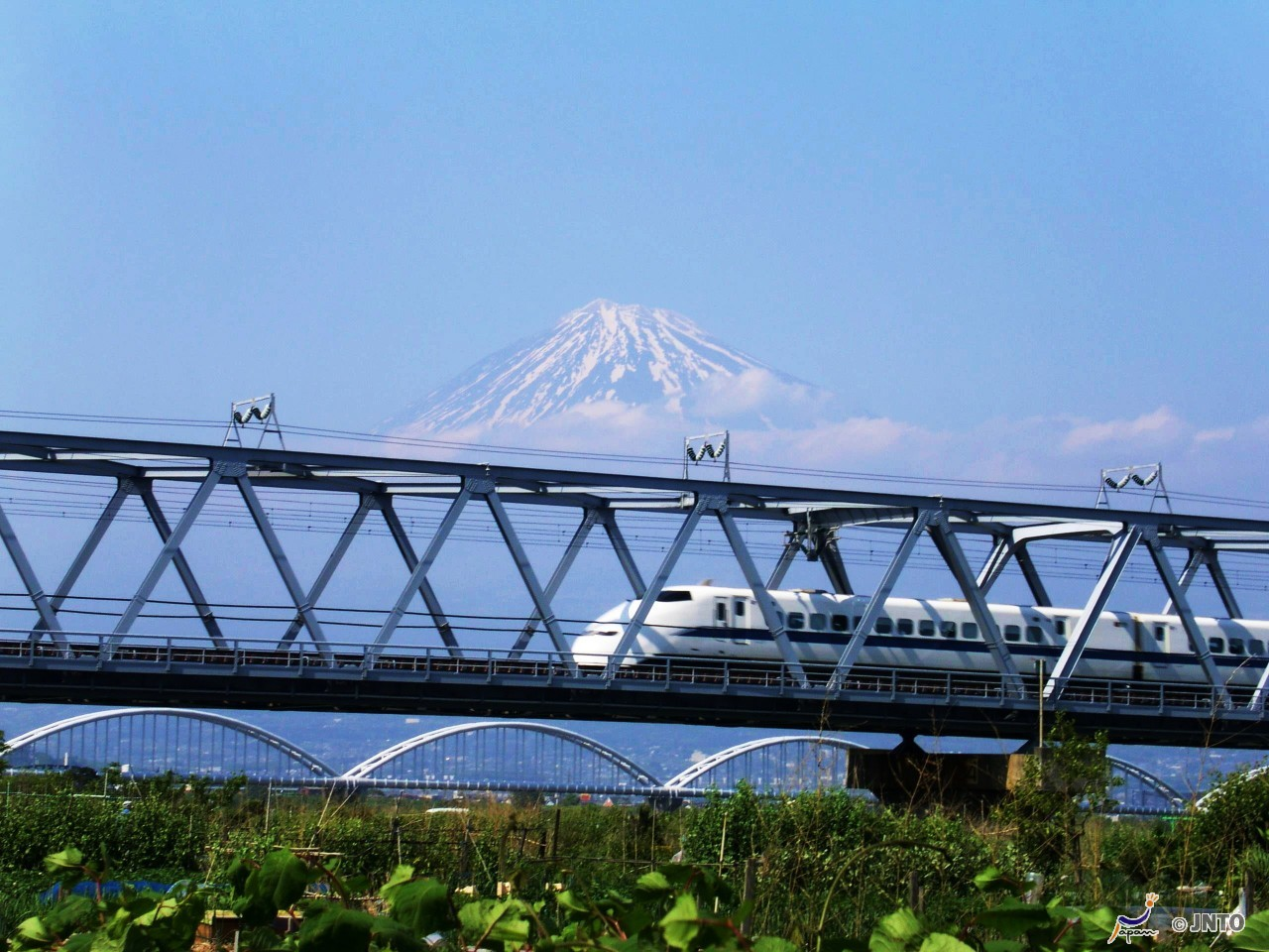 Mishima via (Tokaido shinkansen bullet train)